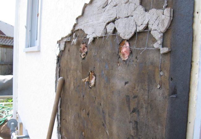 stucco removal